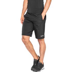 GORE WEAR R3 Gore Windstopper Zip-Off Pants Men, black